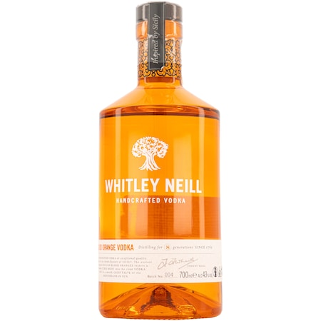 Vodca Whitley Neill, Blood Orange, 43%, 0.7l