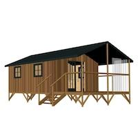 kit casa lemn pret