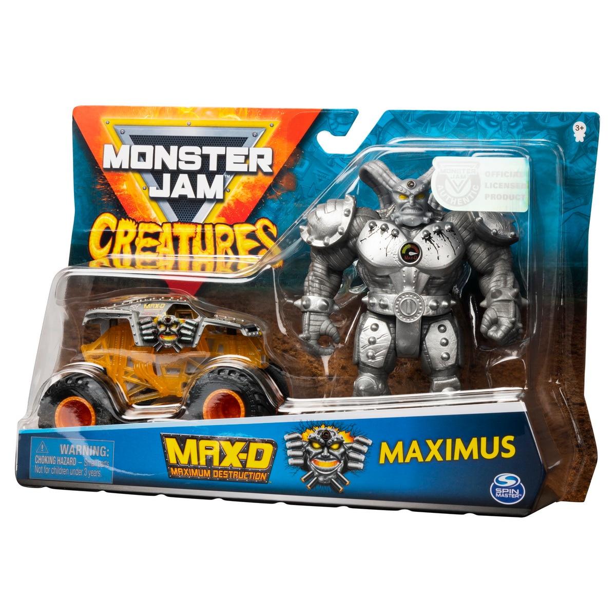 Fotografie Set de joaca Monster Jam Creatures - Max D si Maximus