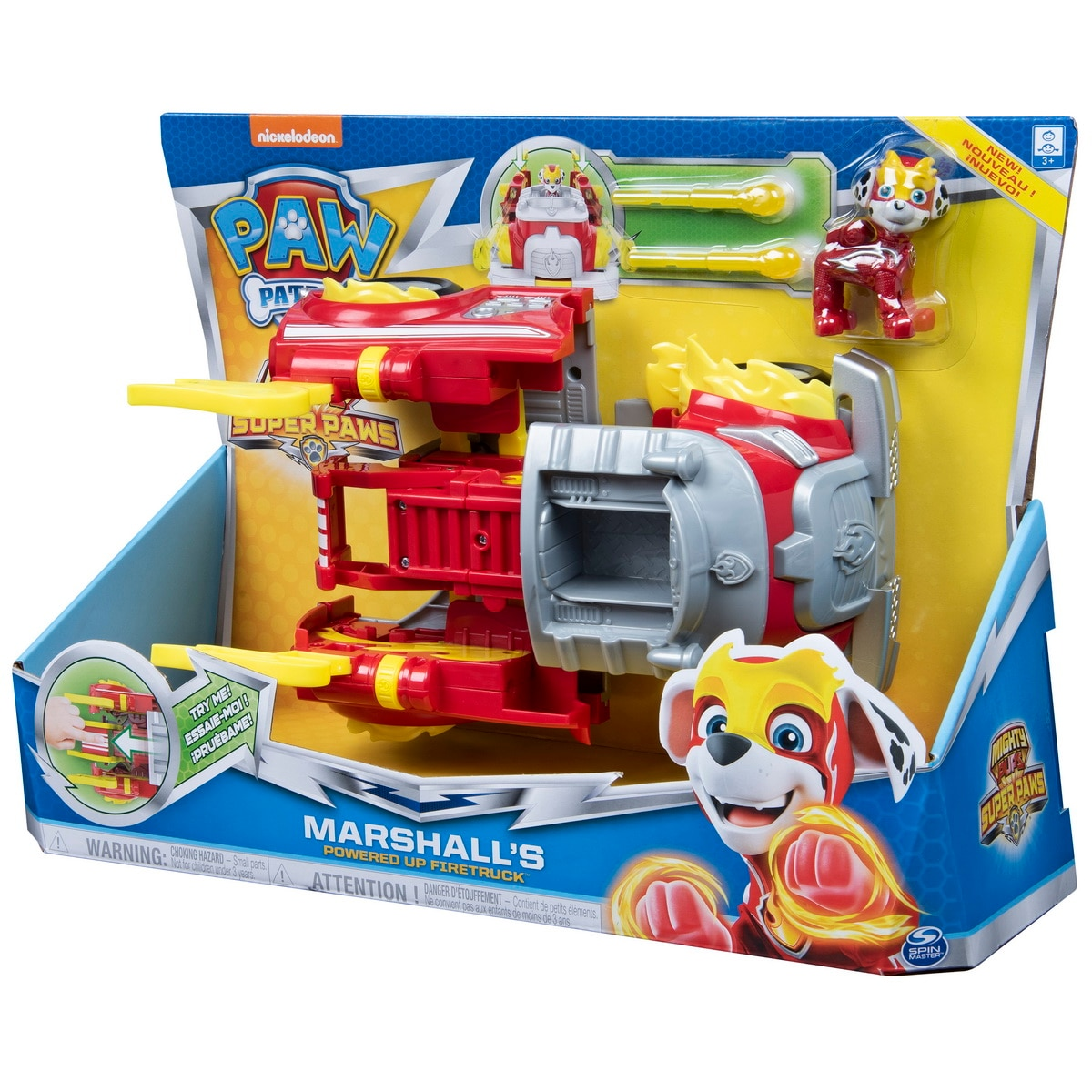 Fotografie Set de joaca Paw Patrol - Marshall, Power Up Fire Truck