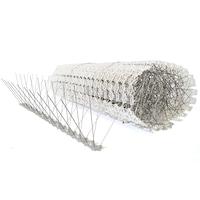 Galambriasztó Tüske, 10 méter szett (20db*50cm), 4 soros, UV-ellenálló Polikarbonát Alapú