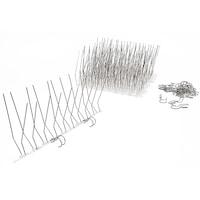 Ereszcsatorna védő Galambriasztó Tüske 5m szett (10db*50cm) rögzítőklipekkel