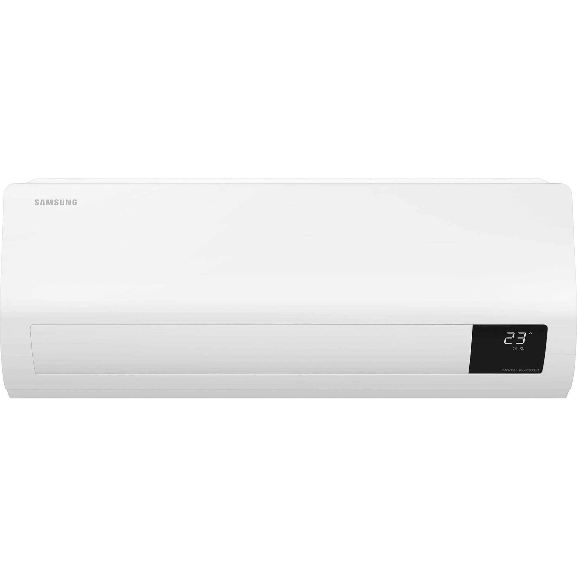 Fotografie Aparat de aer conditionat Samsung Luzon 12000 BTU, Clasa A++/A+, Fast cooling, Mod Eco, AR12TXHZAWKNEU/AR12TXHZAWKXEU, Alb
