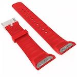 Силиконова каишка SPulse за Samsung Galaxy Gear S2 R720 R730/SMR 720 цвят червен