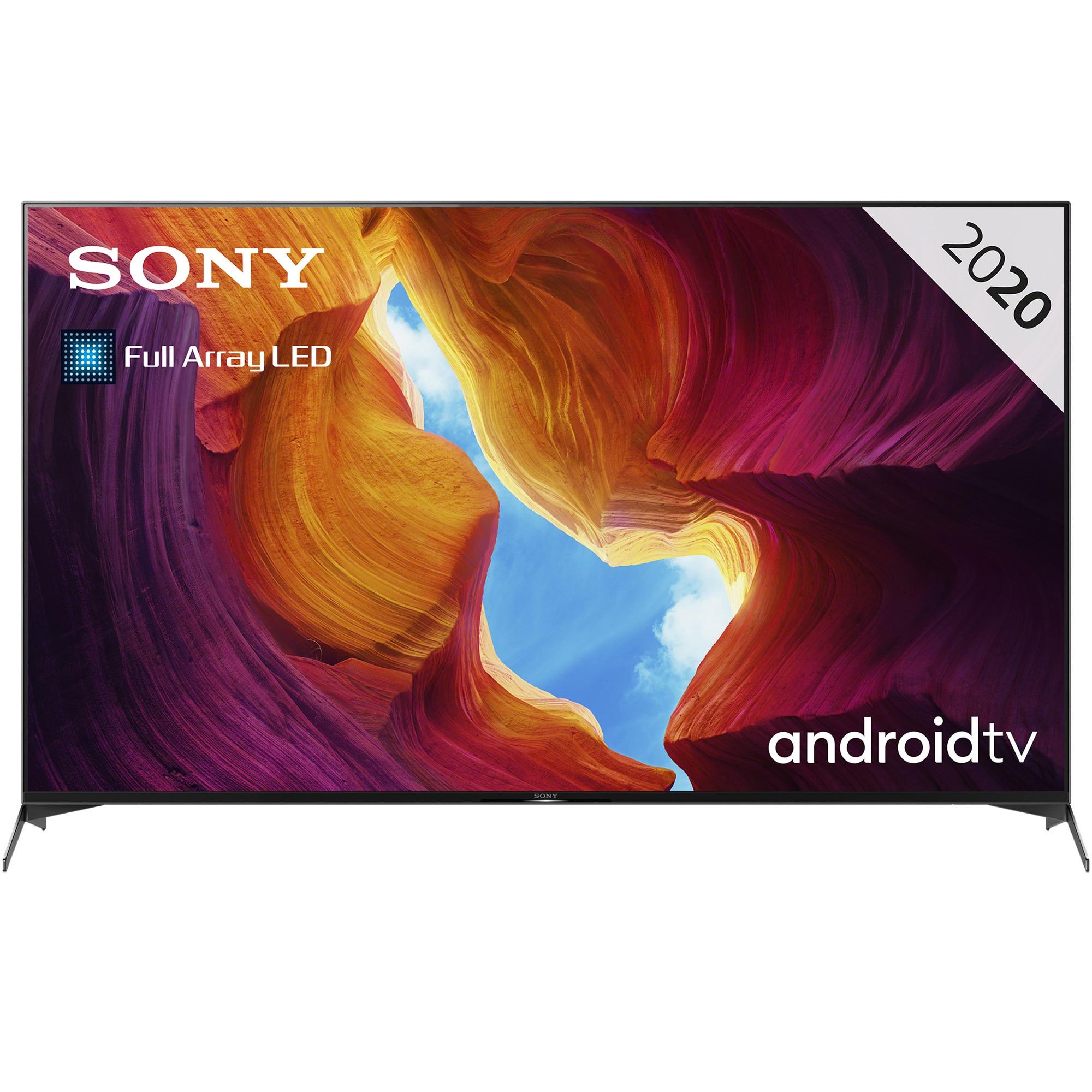 Fotografie Televizor Sony 75XH9505, 189.3 cm, Smart Android, 4K Ultra HD, LED, Clasa G