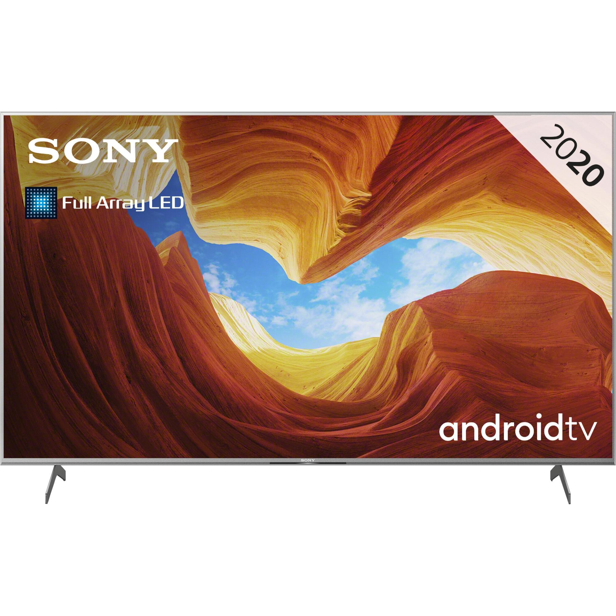 Fotografie Televizor Sony 65XH9077, 163.9 cm, Smart Android, 4K Ultra HD, LED, Clasa G