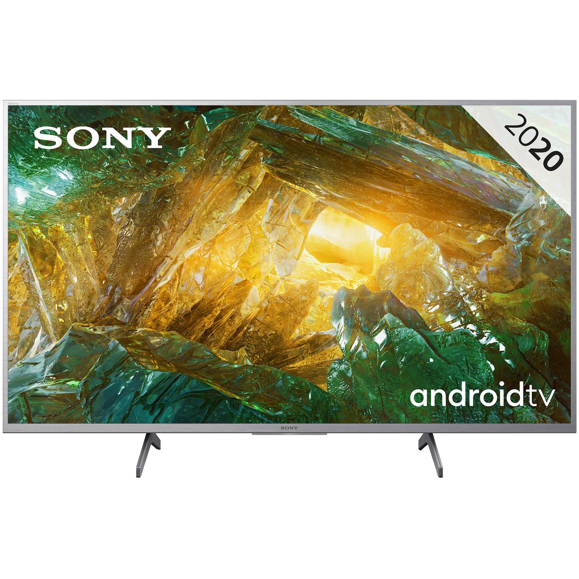 Fotografie Televizor Sony 43XH8077, 108 cm, Smart Android, 4K Ultra HD, LED, Clasa A
