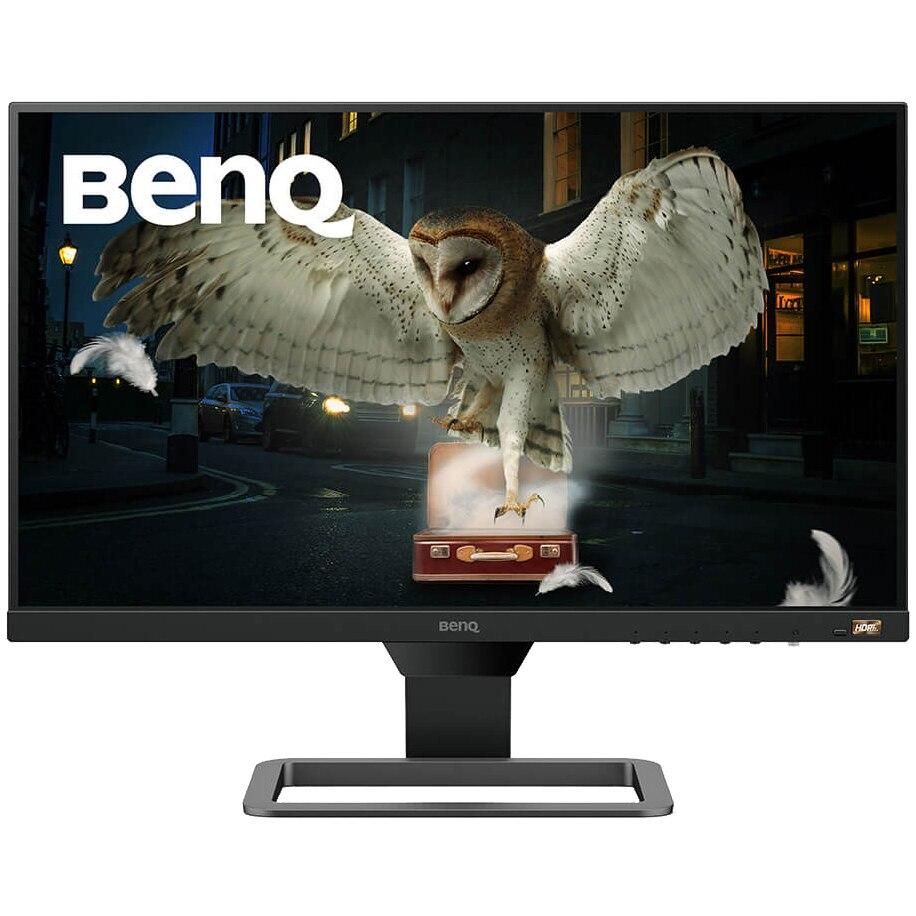 "Fotografie Monitor LED IPS Benq 23.8"", Full HD, HDMI, FreeSync, 75Hz, Negru/Gri, EW2480"