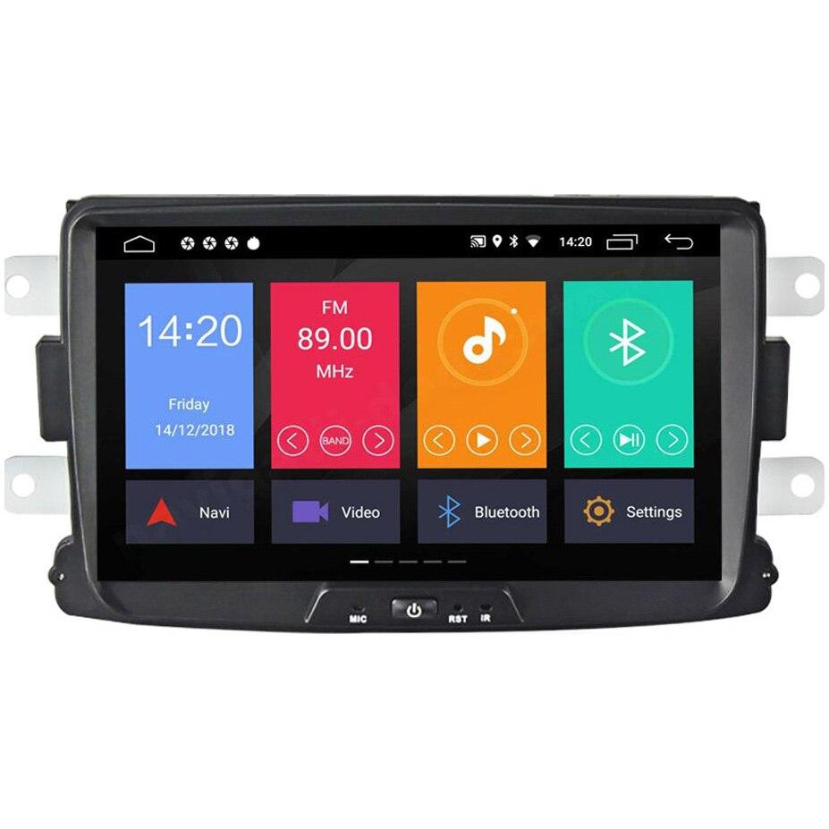 Fotografie Multimedia player auto PNI DAC90 cu Android 10 2GB DDR3/ROM 32GB, Sistem navigatie pentru Dacia Logan 2 Sandero Duster Renault Captur Touch Screen Bluetooth RDS