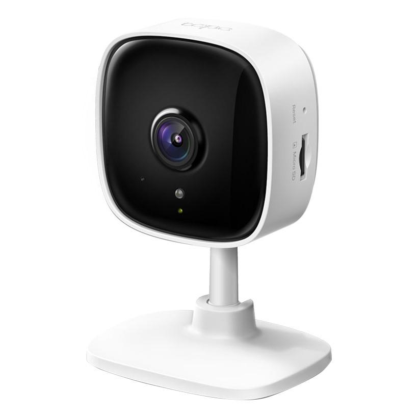 Fotografie Camera de supraveghere Smart TP-Link Tapo C100 cu Night Vision, Full HD 1080P, Functie Baby Monitor Wireless Audio Video, Detectarea miscarii, Alarma sonora si luminoasa, Two-Way Audio, Mod Privacy, Stocare locala, IP Wi-Fi, Alb