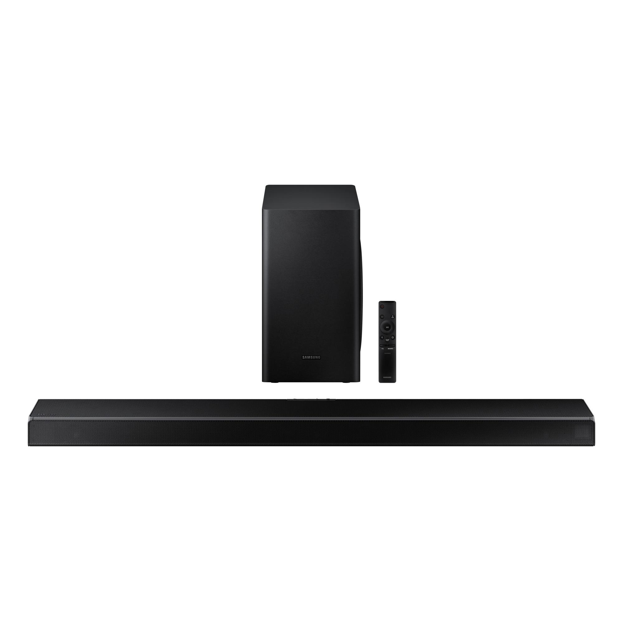 Fotografie Soundbar Samsung HW-Q60T, 5.1, 360W, Wireless, Dolby, DTS, Negru