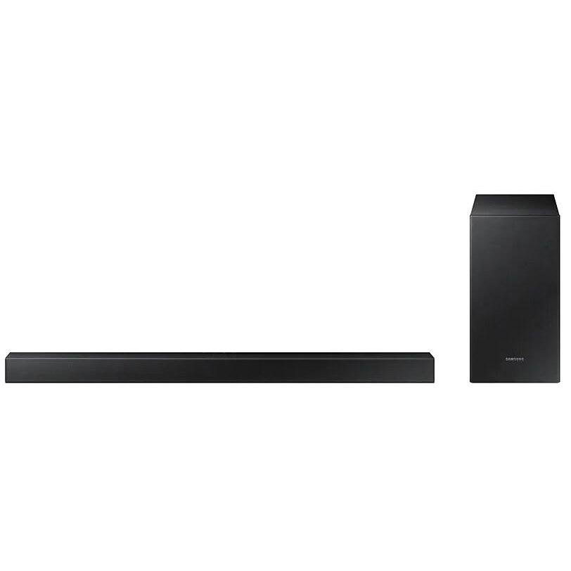 Fotografie Soundbar Samsung HW-T450, 2.1 Canale, 200W, Wireless Subwoofer, Bluetooth