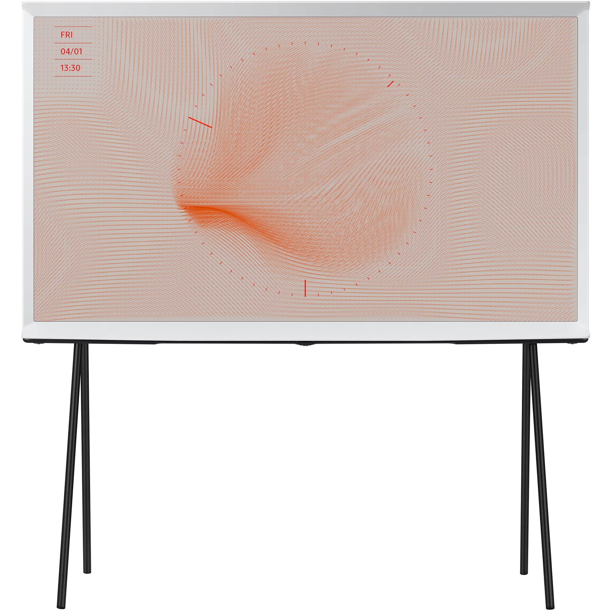 Fotografie Televizor Samsung The Serif 55LS01T, 138 cm, Smart, 4K Ultra HD, QLED, Clasa G