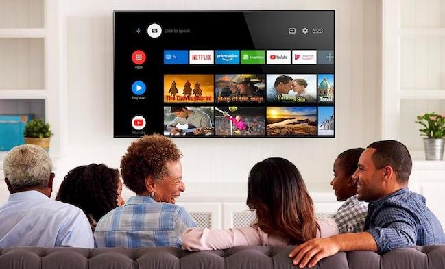 Телевизор Sony 43XH8596