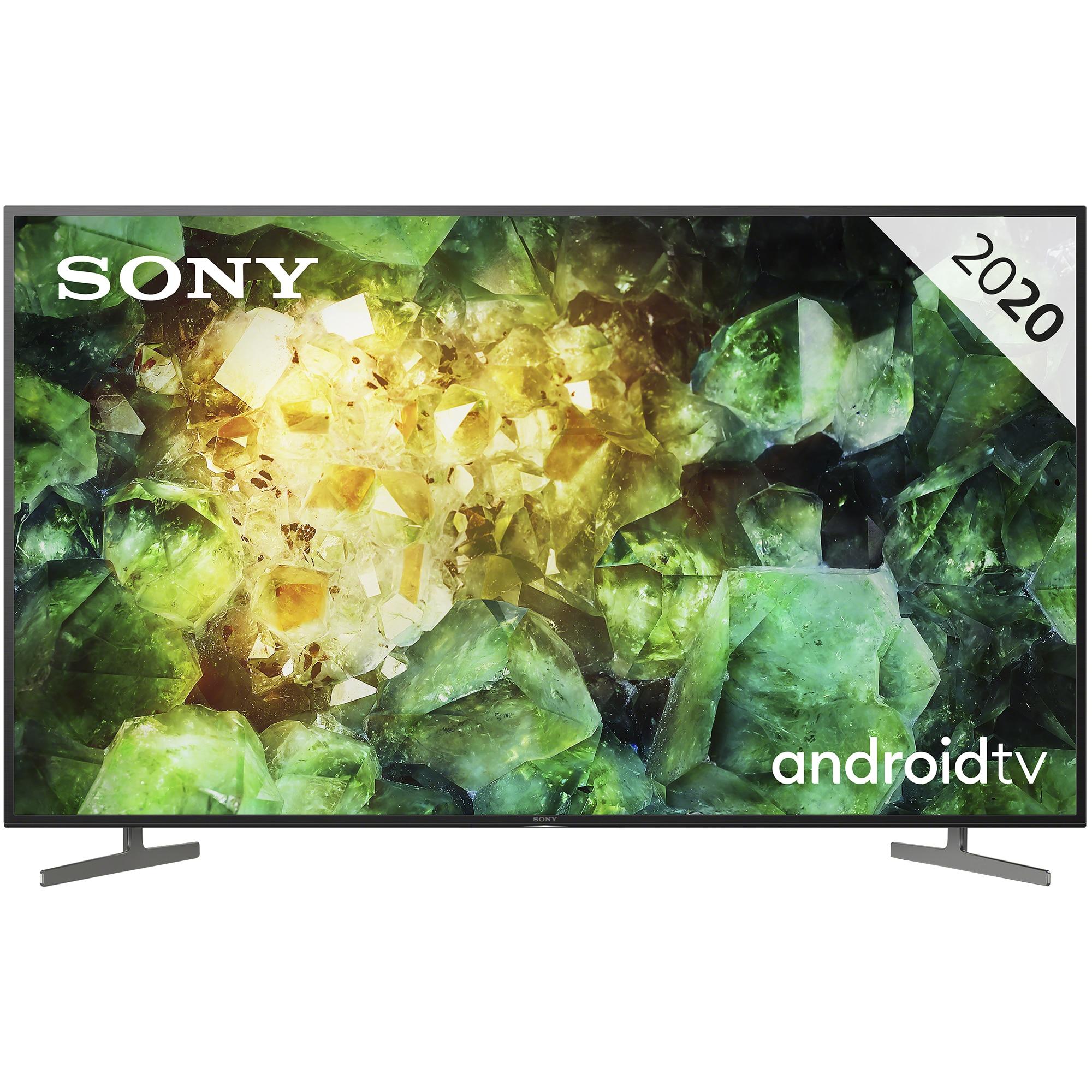 Fotografie Televizor Sony 55XH8196, 138.8 cm, Smart Android, 4K Ultra HD, LED, Clasa A