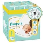 Пелени Pampers Premium Care XXL Box, Новородени, Размер 1, 2-5 кг, 156 броя