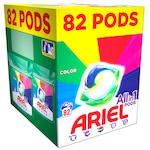 Капсули за пране Ariel All in One PODS Color, 82 изпирания