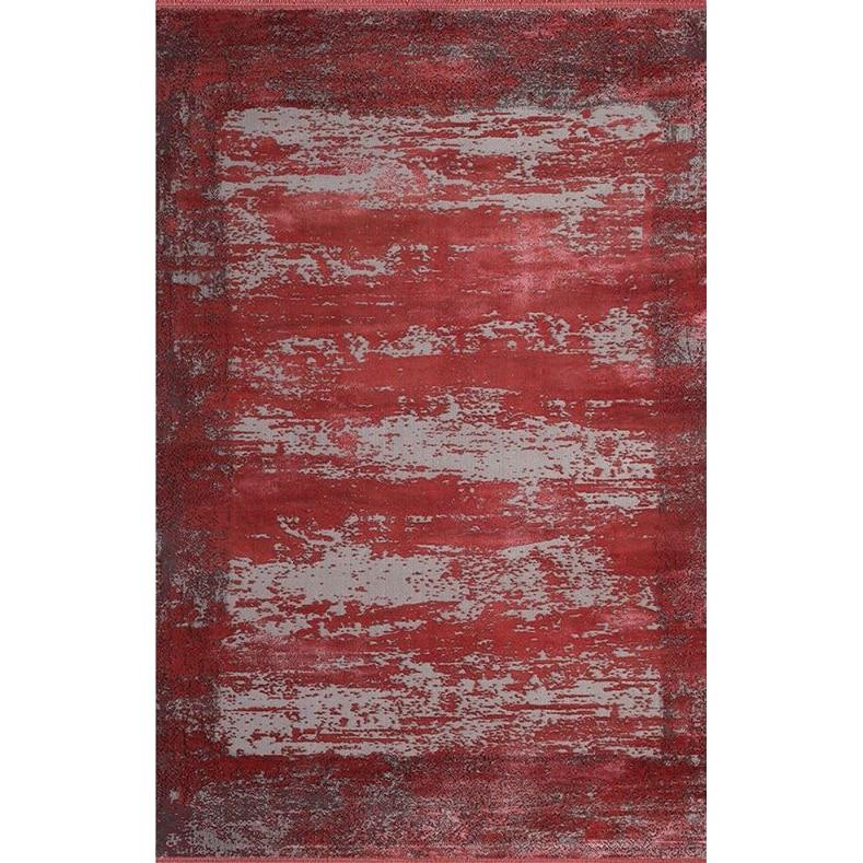 Fotografie Covor Palette Pierre Cardin, antistatic, acrilic, 80x150 cm, rosu/gri, PA07C