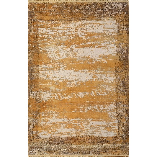 Fotografie Covor Palette Pierre Cardin, antistatic, acrilic, 160x230cm, portocaliu/maro, PA10D