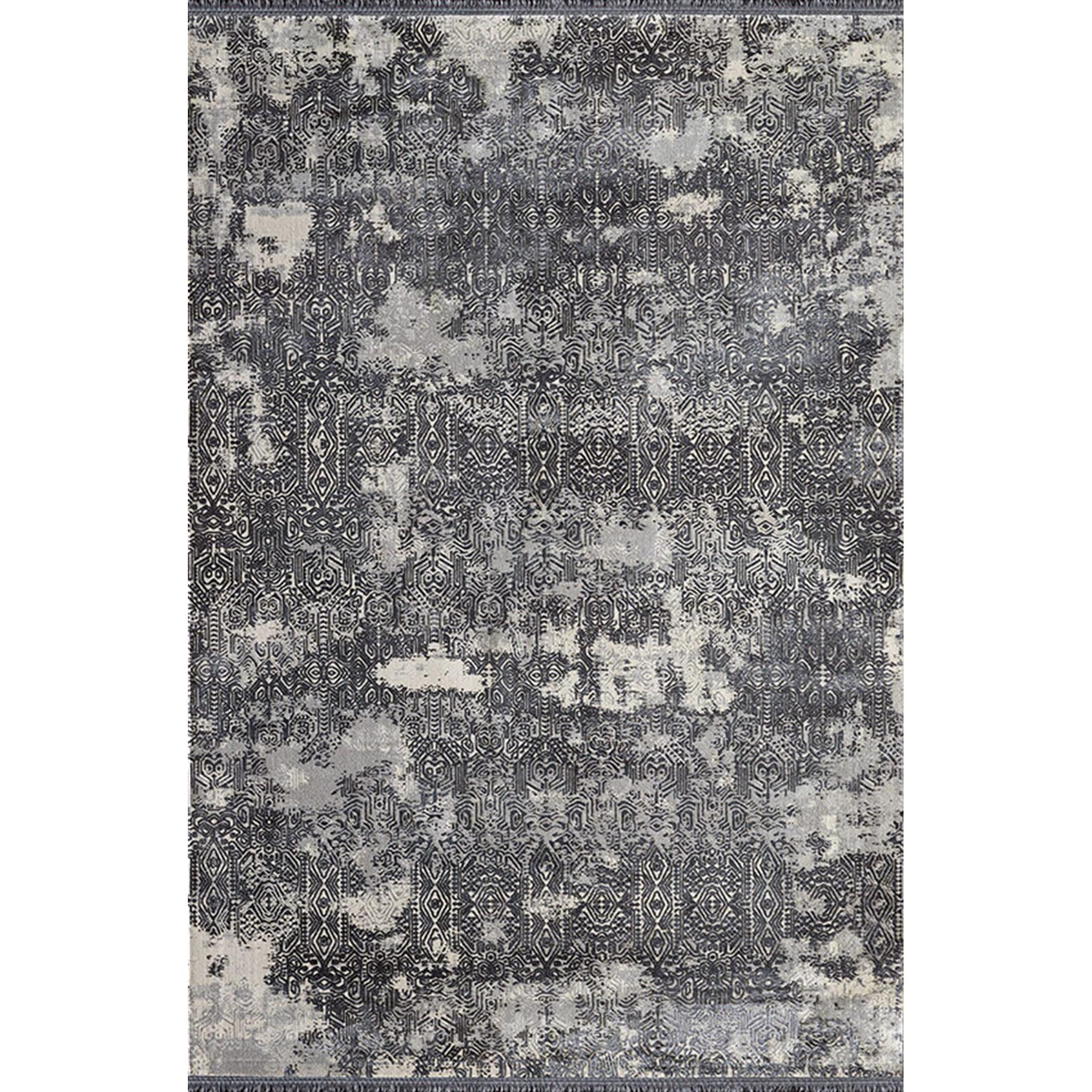 Fotografie Covor Palette Pierre Cardin, antistatic, acrilic, 160x230cm, alb/negru, PA04E