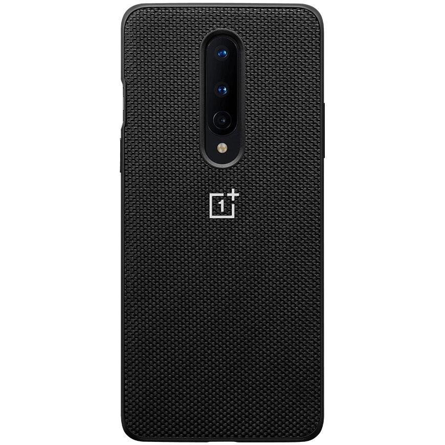 Fotografie Husa de protectie OnePlus Nylon Bumper Case pentru OnePlus 8, Black