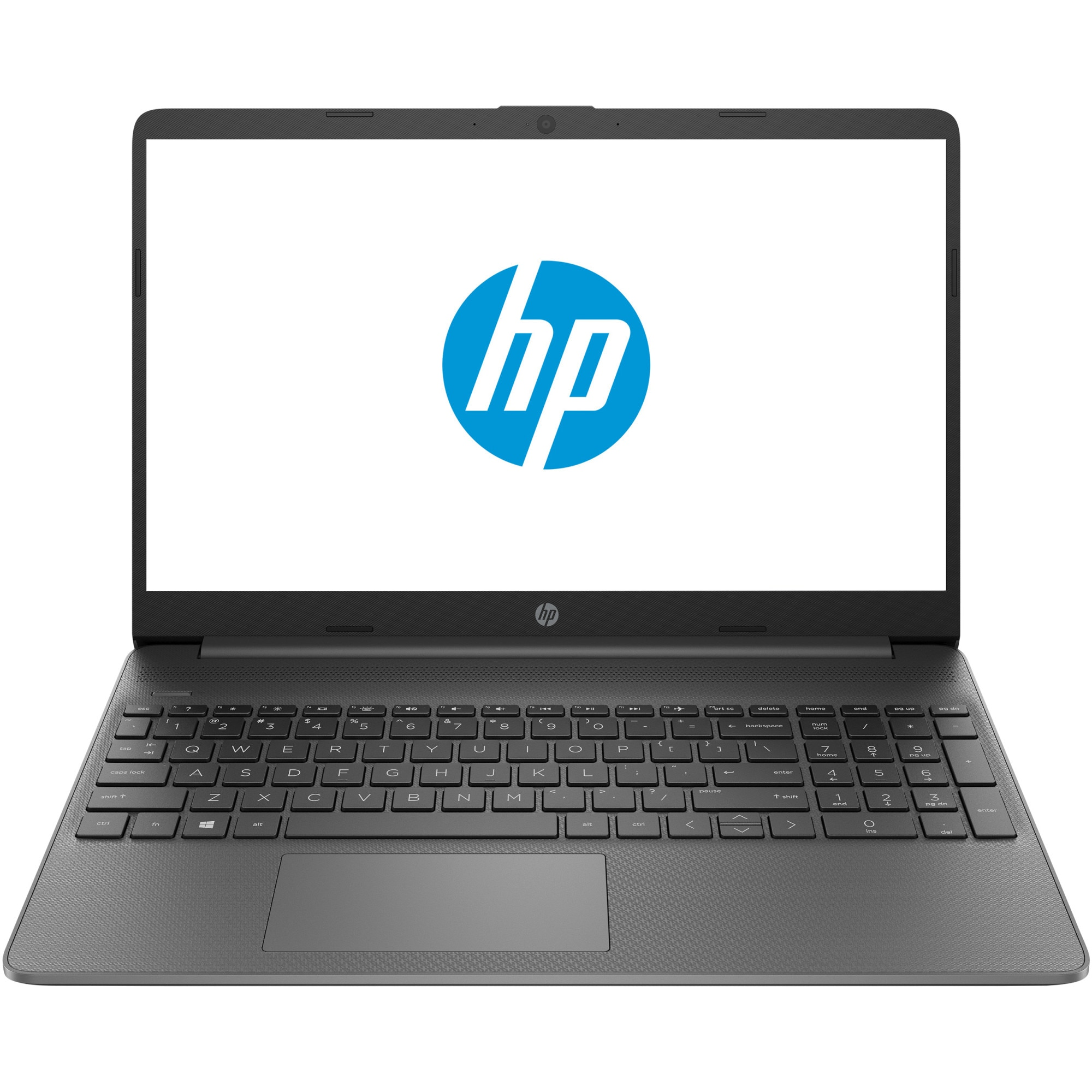 "Fotografie Laptop HP 15 15s-eq0003nq cu procesor AMD Ryzen 5 3500U pana la 3.70 GHz, 15.6"", Full HD, 8GB, 256GB SSD, AMD Radeon Vega Graphics, Free DOS, Gray"
