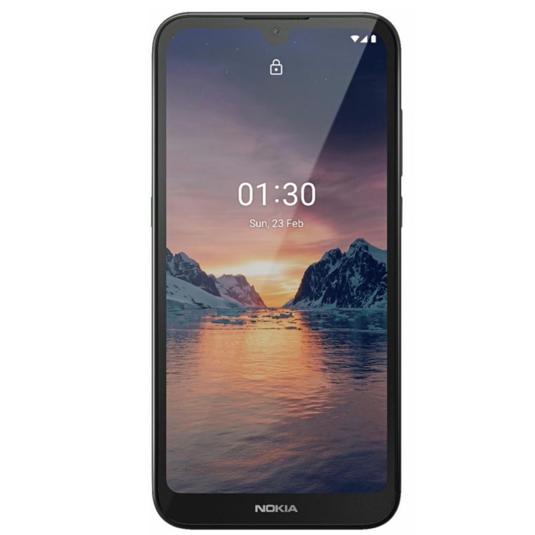 Fotografie Telefon mobil Nokia 1.3, Dual SIM, 16GB, 4G, Charcoal