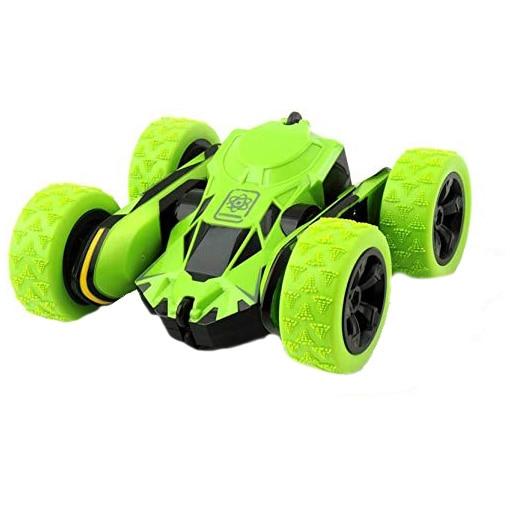 Fotografie Masinuta M-Toys Stunt cu telecomanda, scara 1:28, alb/verde