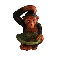 Figurina gradina tip maimuta, ceramica, 29hx22Lx20l gradina/foisor/balcon, ornament/decoratiune, multicolor