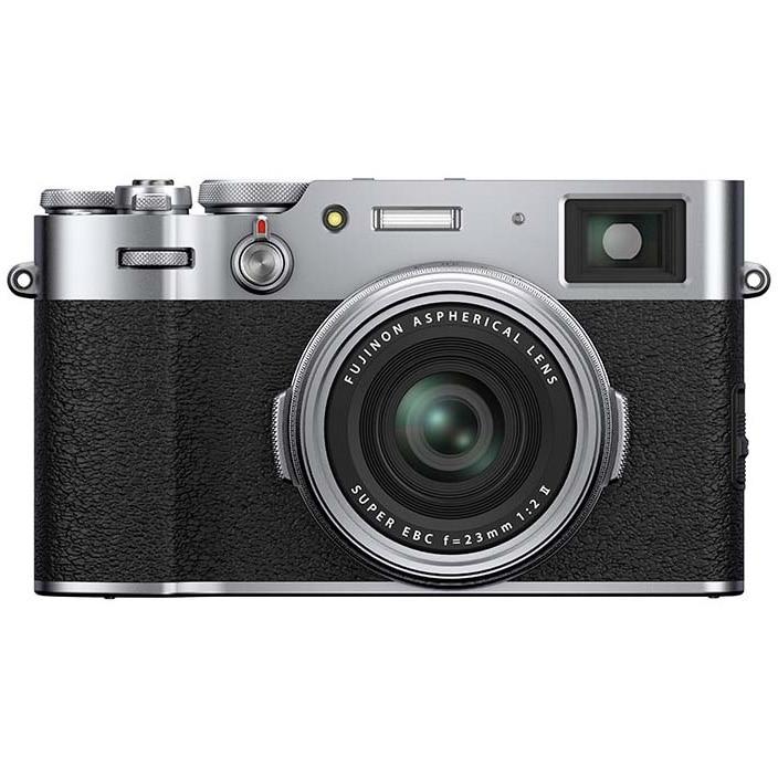 Fotografie Aparat foto Mirrorless Fujifilm X100V, 26.1 MP, Silver