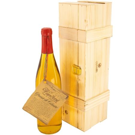 Vin Alb de Vinoteca Grasa de Cotnari, 2005, Dulce, 12%, 0.75l, Cutie de lemn