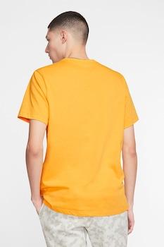 Nike, Tricou cu logo brodat Club, Galben sofran