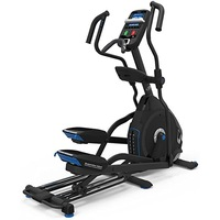 Bicicleta eliptica NAUTILUS E628 Gri, Greutatea maxima utilizator 158 Kg, 29 de programe, Ecran LCD, Bluetooth, Roti transport, 4 Profiluri utilizatori