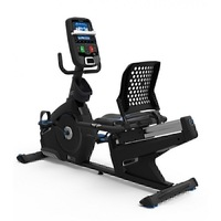 Bicicleta orizontala de exercitii NAUTILUS R626 Gri, Greutate suportata 136 Kg,, Boxe integrate, Bluetooth, USB, Ecran LCD, Ventilator, 29 programe antrenament