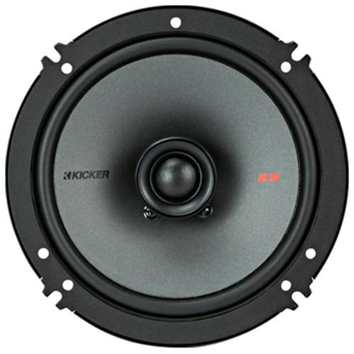 Fotografie Difuzoare coaxiale Kicker , Diametru 5-1/4'' (13 cm), 2 cai, Putere nominala 75W, Putere maxima 150W.