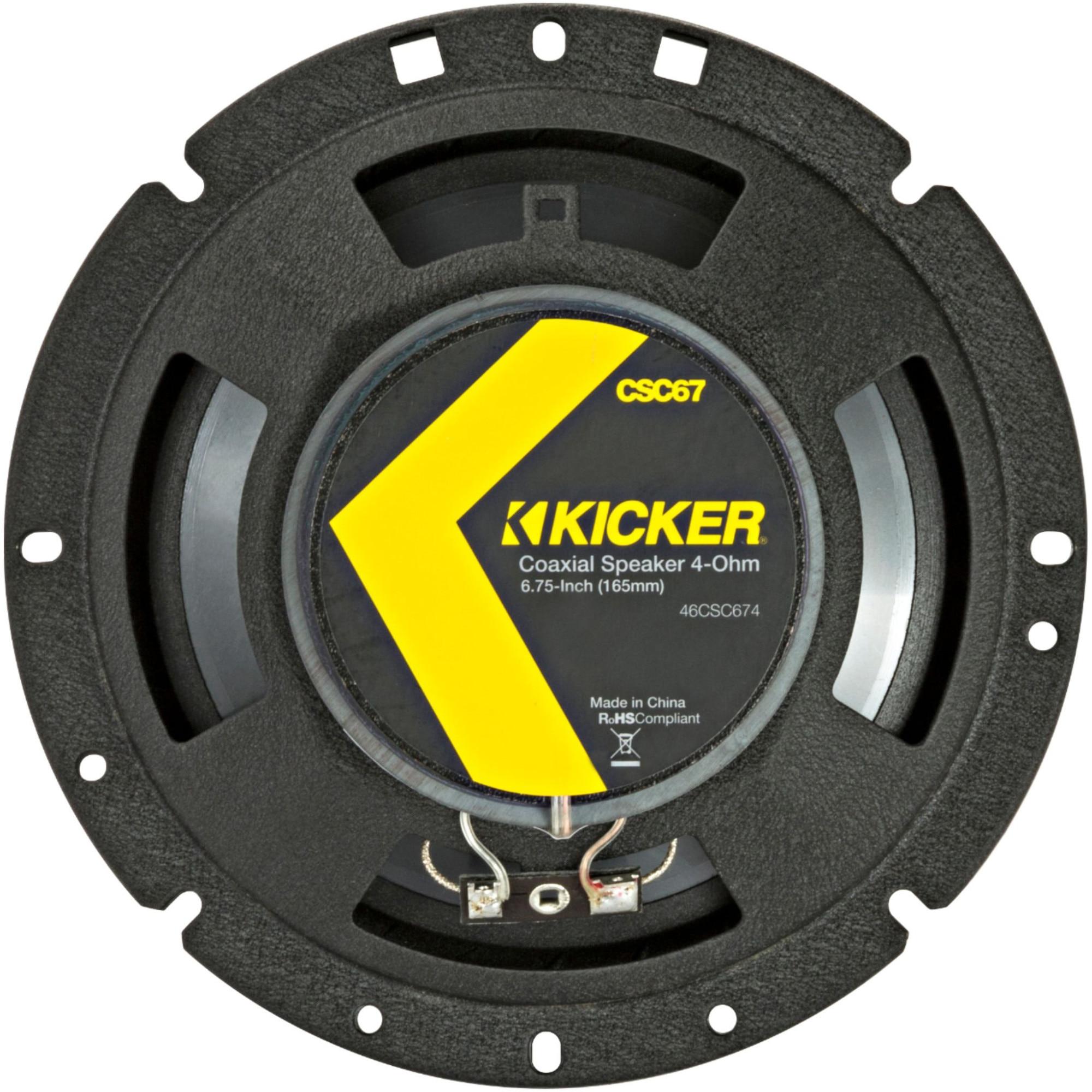 "Fotografie Difuzoare coaxiale Kicker 17 cm (6-3/4""), 2 cai, 300W/100W"