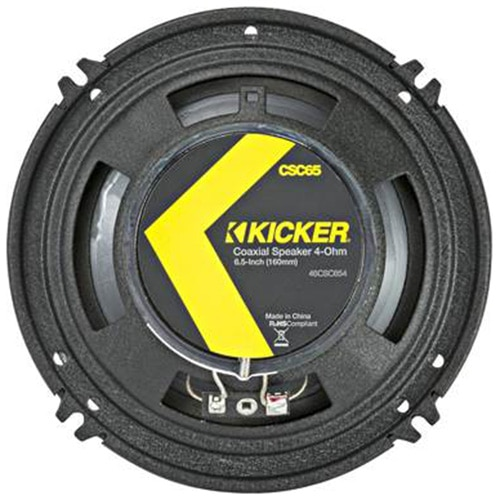 "Fotografie Difuzoare coaxiale Kicker 16 cm (6-1/2""), 2 cai, 300W/100W"