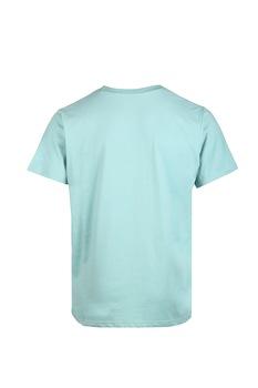 Fundango, Normál fazonú feliratos és logós póló, Világos perzsazöld