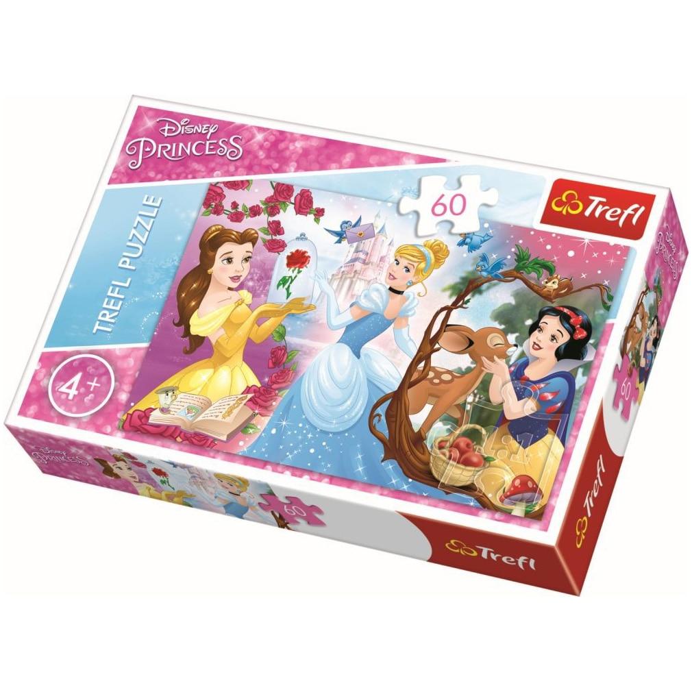 Fotografie Puzzle Trefl, Disney Princess, Invitatie la bal, 60 piese
