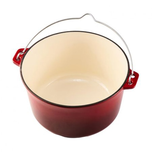 Fotografie Ceaun din fonta emailat Cooking by Heinner, inductie, 25 x 14 cm, 5 L