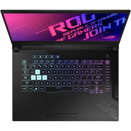 "Лаптоп Gaming ASUS ROG Strix G15 G512LWS, 15.6"", Intel® Core™ i7-10750H, RAM 16GB, SSD 512GB, NVIDIA® GeForce® RTX 2070 SUPER™ 8GB, Free DOS, Black"