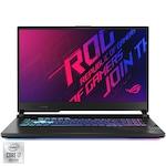 "Лаптоп Gaming ASUS ROG Strix G17 G712LV, 17.3"", Intel® Core™ i7-10750H, RAM 8GB, SSD 1TB, NVIDIA® GeForce® RTX™ 2060 6GB, Free DOS, Black"