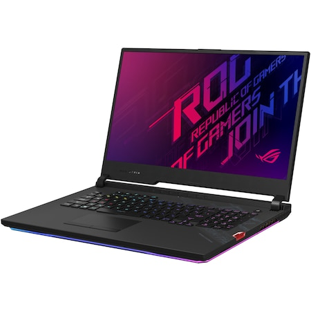 "Лаптоп Gaming ASUS ROG Strix SCAR 17 G732LXS, 17.3"", Intel® Core™ i9-10980HK, RAM 32GB, SSD 2TB, NVIDIA® GeForce® RTX 2080 SUPER™ 8GB, Free DOS, Black"