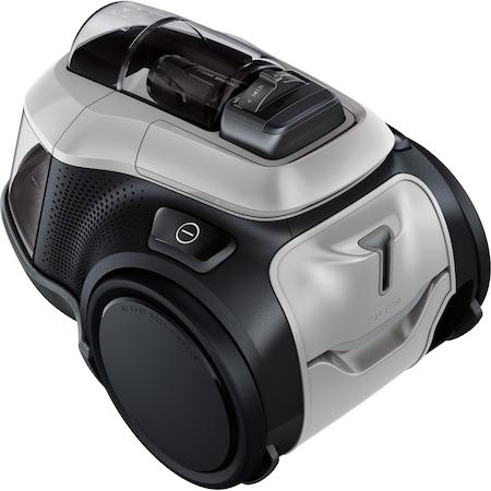 Aspirator fara sac Electrolux Pure C9 PC91-6MG, 700 W, Clasa A, 1,6L, filtrare in 7 trepte, 12 viteze, filtre lavabile, perie Parketto Pro, Mineral Grey