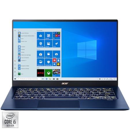 "Лаптоп Ultrabook Swift 5 SF514-54 , 14"" Touch, Intel® Core™ i5-1035G1, RAM 16GB, SSD 512GB, Intel® UHD Graphics, Microsoft Windows 10 Home, Blue"