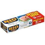 Ton in suc natural Rio Mare 3x160g, 480g
