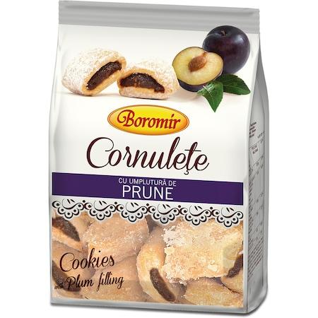 Cornulete cu umplutura de Prune Boromir, 250g