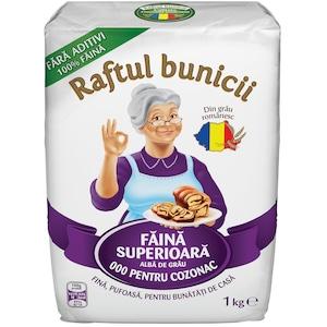 Faina de grau Raftul Bunicii Pentru Cozonaci, 1 Kg