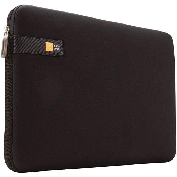 "Fotografie Husa laptop Case Logic LAPS114K Slim-Line Neoprene 14"", Negru"