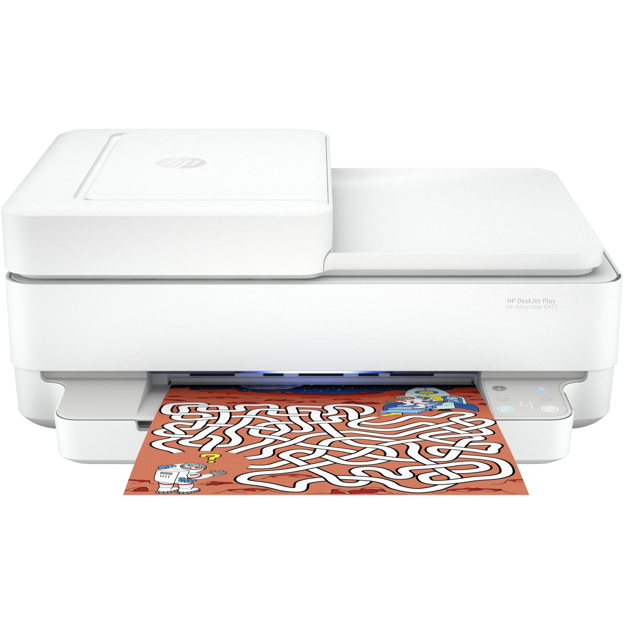 Fotografie Multifunctional inkjet color HP Deskjet Plus Ink Advantage 6475 All-in-One, A4, Gri